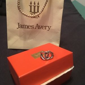 Double Heart James Avery Ring